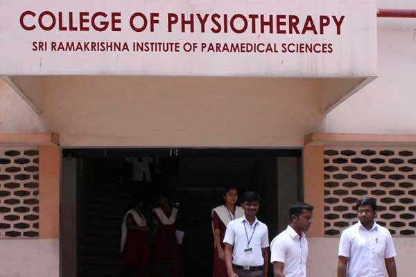College of Physiotherapy, Sri Ramakrishna Institute of Paramedical Sciences